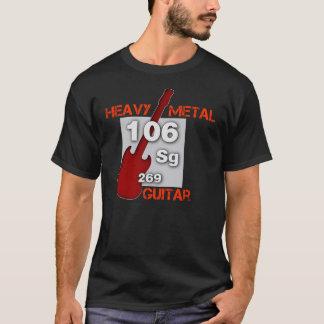 T-shirt Guitare de métaux lourds
