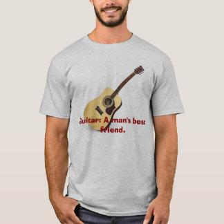 T-shirt Guitare : Le meilleur ami d'un homme