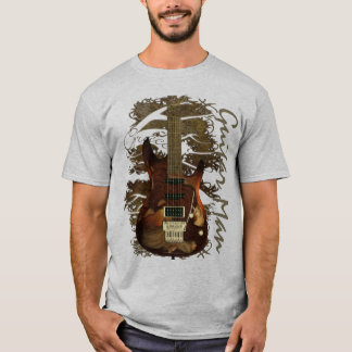 T-shirt Guitare rêveuse - grâce