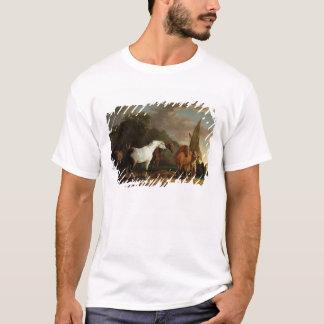 T-shirt Gulliver prenant son congé final de la terre du