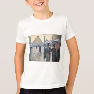 T-shirt Gustave Caillebotte- Paris, un jour pluvieux