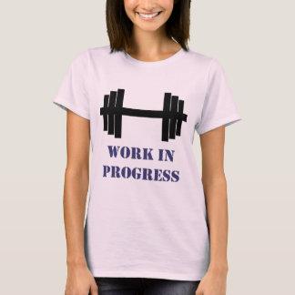 T-shirt Gymnase de travail en cours