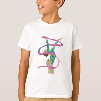 T-shirt Gymnaste de ruban