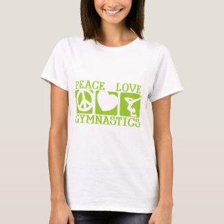 T-shirt Gymnastique d'amour de paix