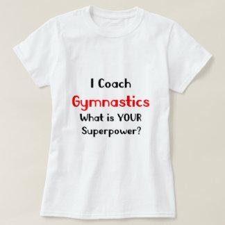 T-shirt Gymnastique d'entraîneur