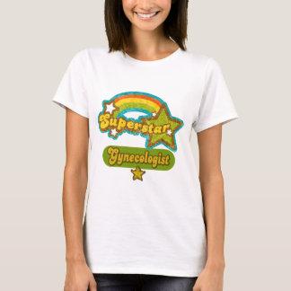 T-shirt Gynécologue de superstar