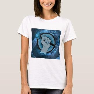 T-shirt Gyre bleu éternel