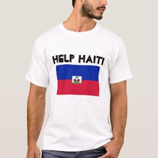 T-shirt H, aide Haïti
