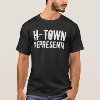 T-shirt H-ville Representa (Houston)