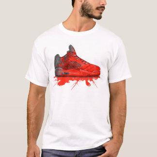 T-shirt Habillement 2016 de la Jordanie d'air rétro (rouge