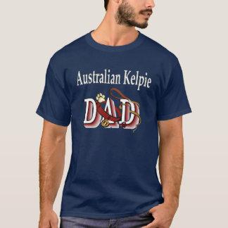 T-shirt Habillement australien de papa de Kelpie