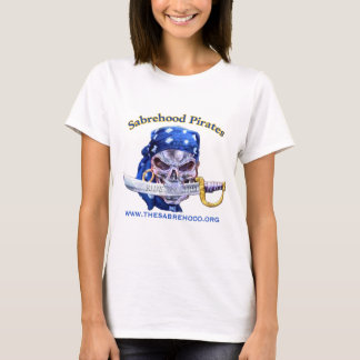 T-shirt Habillement d'adresse de Web de pirates de