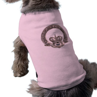 T-shirt Habillement d'animal familier de Claddagh