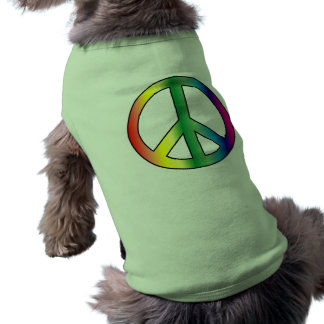 T-shirt Habillement d'animal familier de paix