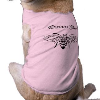 T-shirt Habillement d'animal familier de reine des