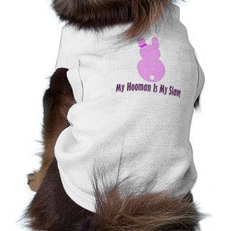 T-shirt Habillement d'animal familier - mon Hooman est mon