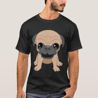 T-shirt Habillement de carlin de faon