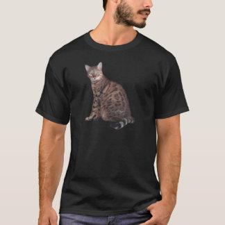 T-shirt Habillement de chat du Bengale