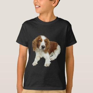 T-shirt Habillement de chiot de springer spaniel de