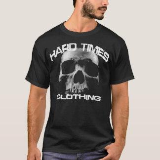 T-shirt Habillement de difficultés (crâne)