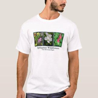 T-shirt Habillement de fleur sauvage