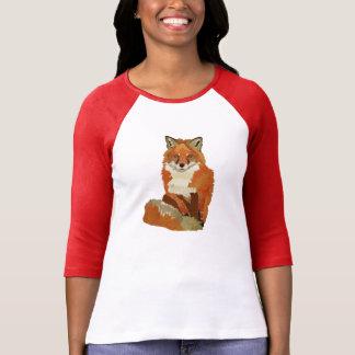 T-shirt Habillement de Fox rouge