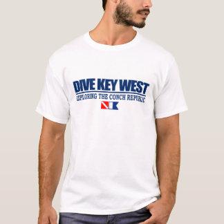 T-shirt Habillement de Key West de piqué