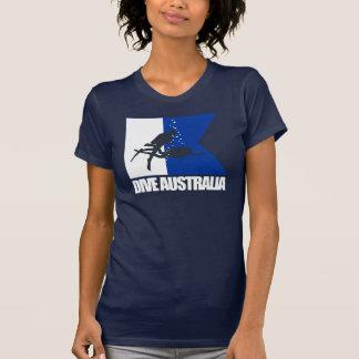 T-shirt Habillement de l'Australie de piqué