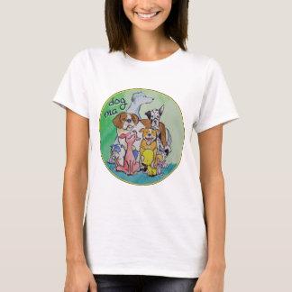 T-shirt Habillement de mA de chien