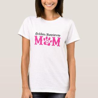 T-shirt Habillement de maman de golden retriever