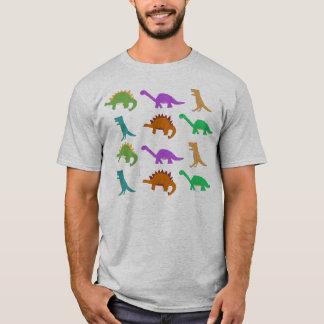 T-shirt Habillement de motif de dinosaure