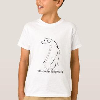 T-shirt Habillement de Rhodesian Ridgeback