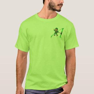 """T-shirt Habillement et cadeaux de l'athée """"A"""" de lutin"""