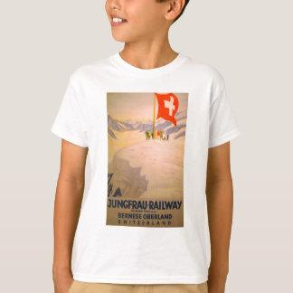 T-shirt Habillement ferroviaire suisse vintage