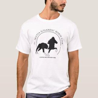 T-shirt Habillement imprimé par logo de Skutla de saint