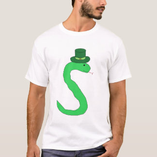 T-shirt Habillement irlandais de serpent