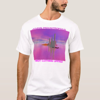 T-SHIRT HABILLEMENT JUPITÉRIEN LTD DE MOONTROPOLIS/PARROT