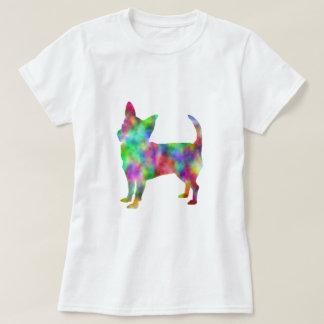 T-shirt Habillement multi de chiwawa de couleur
