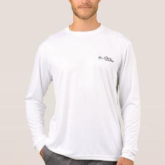 T-shirt Habillement noir des hommes de tarpon et blanc
