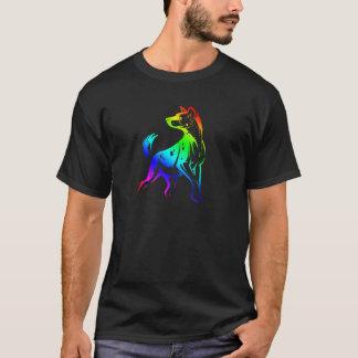 T-shirt Habillement repéré d'hyène