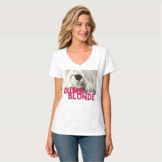 T-shirt habillement rose blond muet Co de la pièce en t