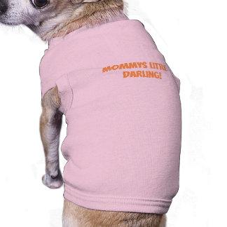 T-shirt Habillement rose d'animal familier pour des chiens