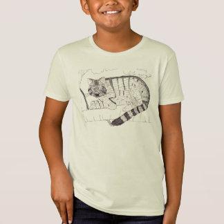 T-Shirt Habillement sauvage de dessin