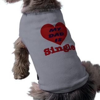 T-shirt Habillement simple de chien de papa
