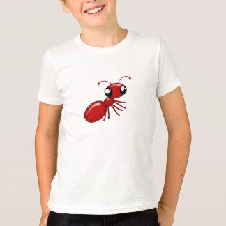 T-shirt Habillement unisexe de la jeunesse de fourmi rouge