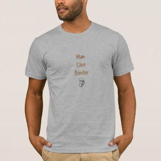 T-shirt Habitant de caverne d'homme