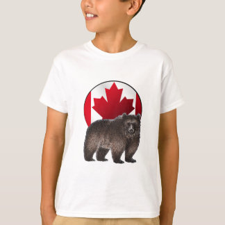 T-shirt Habitat canadien