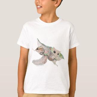 T-shirt Habitat de chêne de Gerry d'écureuil de vol