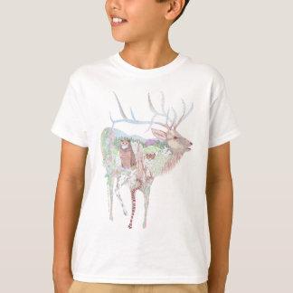 T-shirt Habitat de pré d'élans