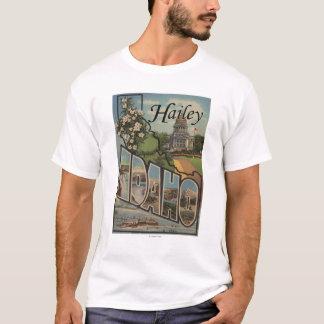 T-shirt Hailey, lettre ScenesHailey, identification